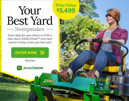 Lawn Mower Giveaway