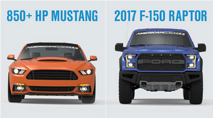 Car Giveaway 2017 >> American Muscle 2017 Raptor Mustang Giveaway Sun Sweeps