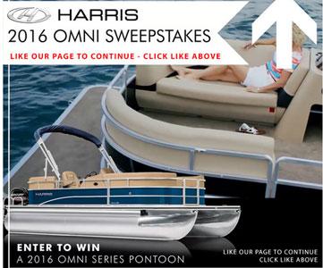 Harris Boats 2016 Harris Omni Sweepstakes