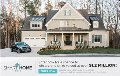 Enter to win hgtv dream home sweepstakes