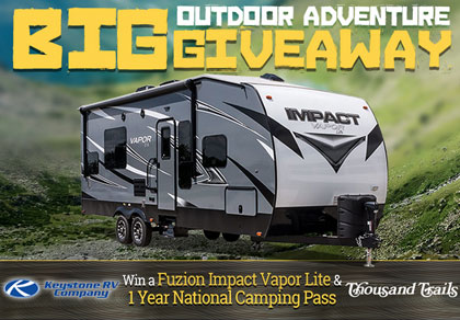 Rv Trader Amp Keystone Rv Big Outdoor Adventure Giveaway