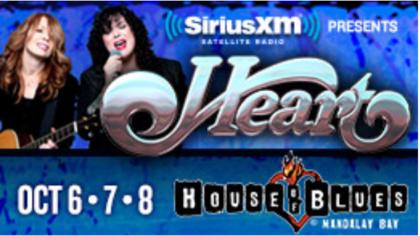 Sirius XM Heart at House of Blues Las Vegas Sweepstakes