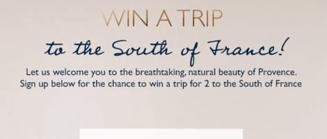 L'Occitan Trip to Provence Sweepstakes
