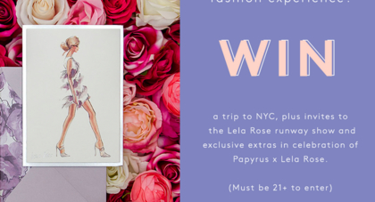 Refinery 29 Papyrus Sweepstakes