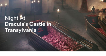 Airbnb Night at Dracula's Castle in Transylvania Contest