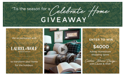 Ashley Furniture Room Makeover Sweepstakes