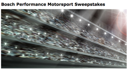 Bosch 2016/2017 Motorsport Sweepstakes