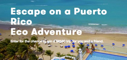 Maven Clinic Puerto Rico Eco Adventure Sweepstakes