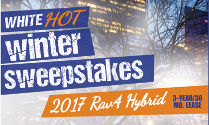Toyota White Hot Winter Sweepstakes