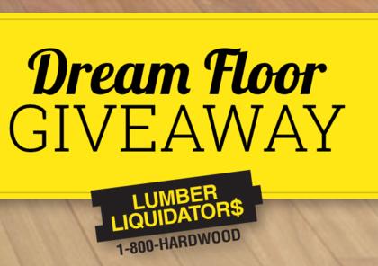 Diy lumber liquidators dream floor giveaway sun sweeps for Dream floor giveaway