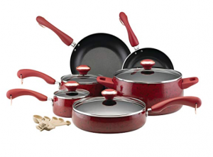 Paula Deen Signature Collection Porcelain Cookware Set